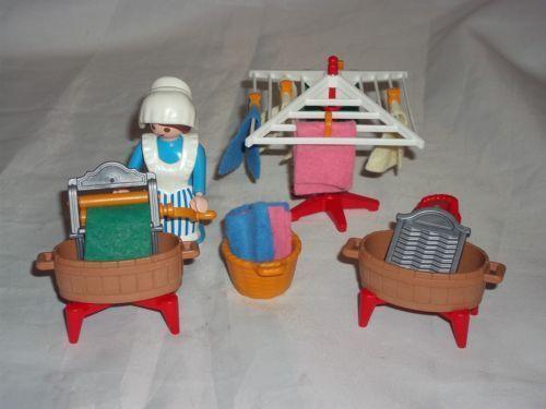 5407 Playmobil Victorian Mansion Laundry Maid Set   eBay