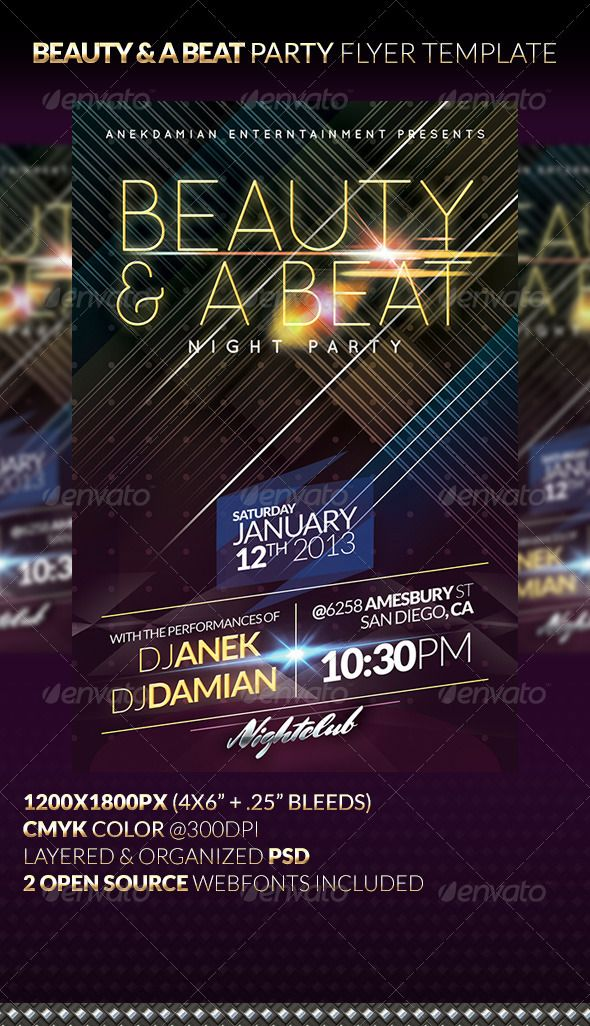 12 best ideas about event flyer templates on pinterest flyer template black white parties and. Black Bedroom Furniture Sets. Home Design Ideas