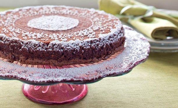 Hungarian Chocolate-Walnut Passover Torte
