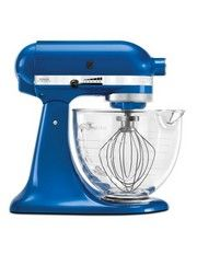 KitchenAid - Platinum Collection Stand Mixer Electric Blue KSM156
