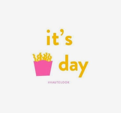 I love Friday!!!