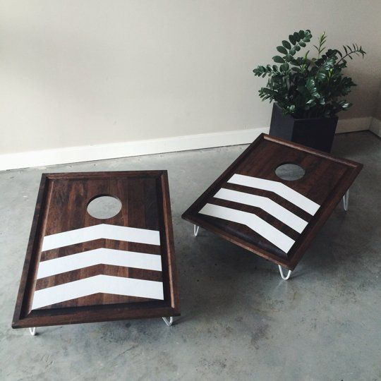 This Handmade Modern Bean Bag Toss Set Is Perfect For Summer Apartment Therapy Reader Submission Tutorials Main