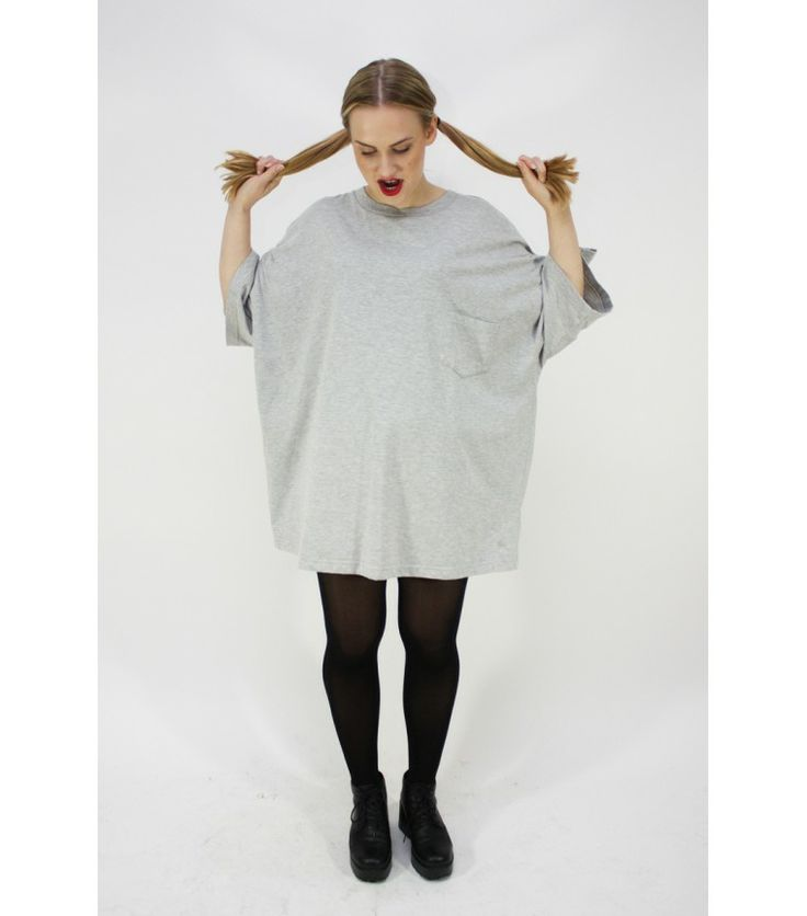Oversized Tee Dress - WST