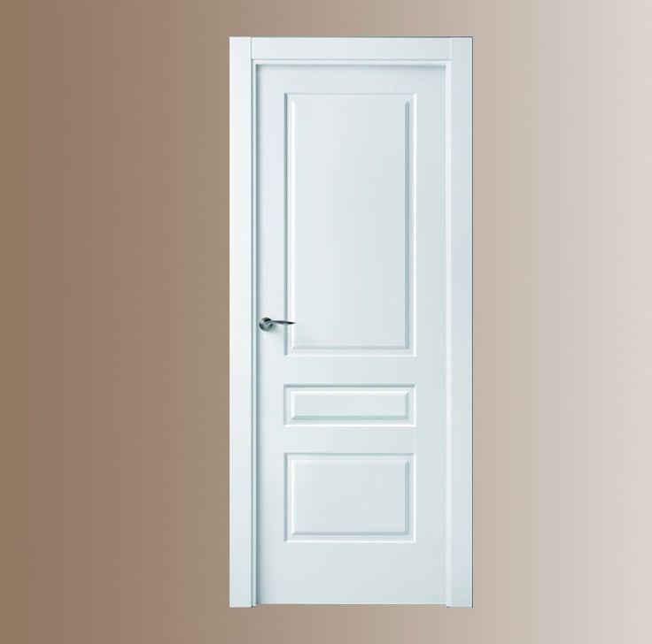 Las 25 mejores ideas sobre puertas blancas en pinterest for Color puertas interiores