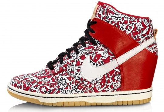 The Nike Dunk Sky High by Nike Sportswear and Liberty of London collaboration