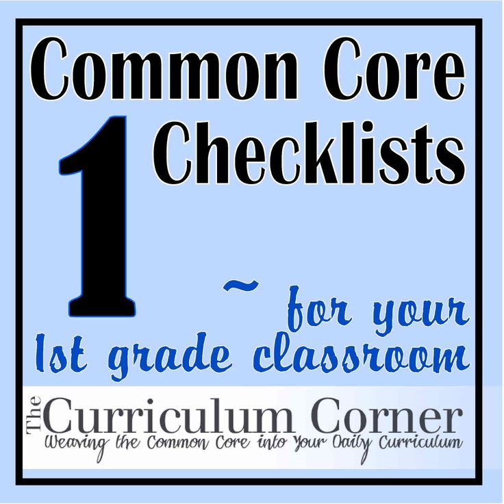 Common Core Checklists broken down by grade level AND subject (LA is broken down into language domains.