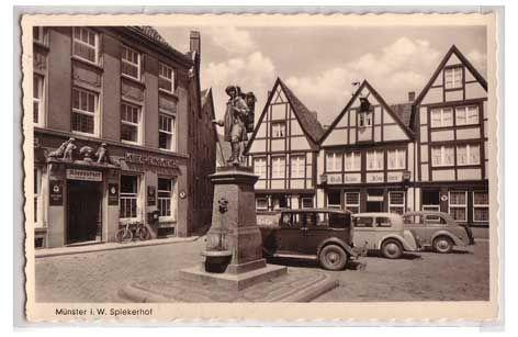 Kiepenkerl Münster - in the historic center of #Muenster, Germany