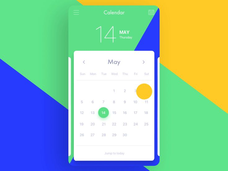Calendar animation