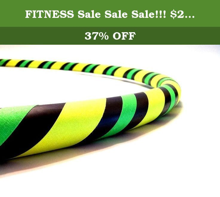 """FITNESS #Sale #Sale Sale!!! $25.00 40"""" Hula Hoop (Sweet Lemonade). DIRECT FROM THE MANUFACTURER. Featuring the original manufacturer of the """"BREAK AWAY"""" the newest innovation in hula hooping. Paradise Hoops is formally the manufacturer for about 90% of Hoopnotica's handmade hula hoops. We have the BEST QUALITY BEST PRICE. This """"BREAK AWAY"""" hula hoop was created by Janou Lightning former team leader of Hoopnotica. She took her expertise in the hooping industry and made a hoop that is easy…"""