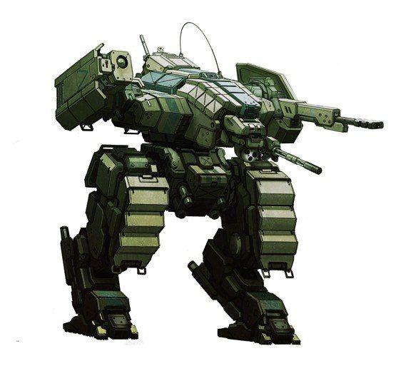 Concept Art: 28mm Power Armor Hardsuits