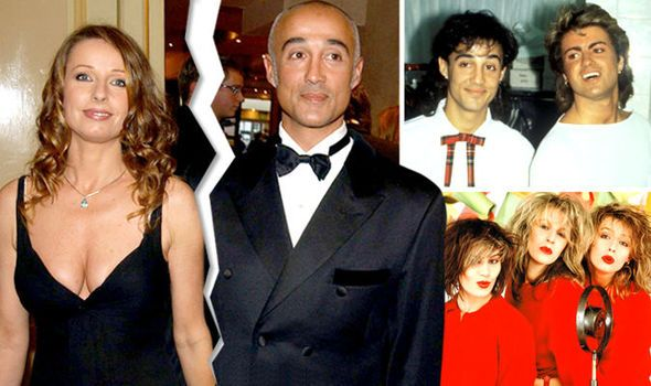 Andrew Ridgeley,ex-WHAM!, has revealed that he and Keren Woodward (Bananarama) secretly split