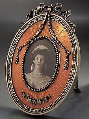 Carl Faberge Picture Frame for sale