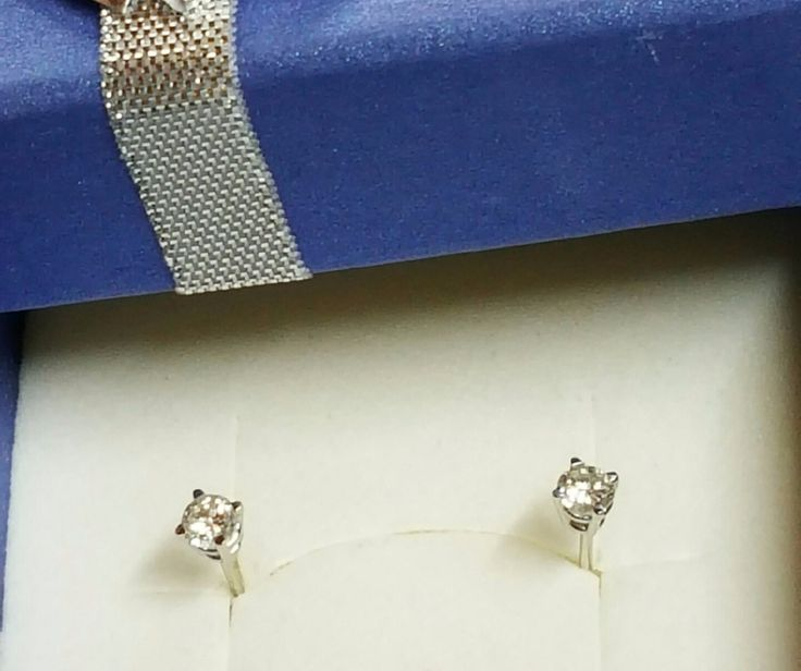 One lucky winner will receive a pair of top-quality DIAMOND stud earrings with 14 karat White Gold posts  from James Diamond Jewelry:1418 Pocono Blvd, Mount Pocono, PA.