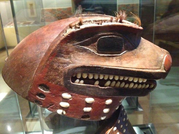 Tlingit mask, Mused de America, Madrid. Northwest coast
