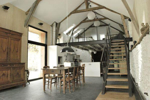 Maison de campagne d'architecte