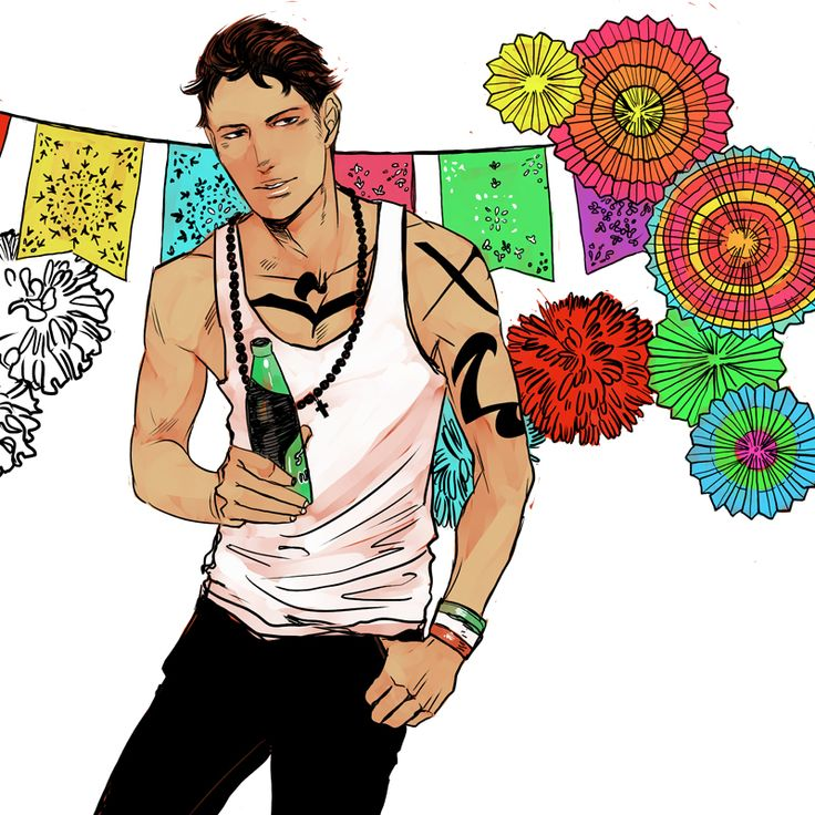 Jaime Rosales (May), Men of the Shadowhunter Universe calendar by Cassandra Jean