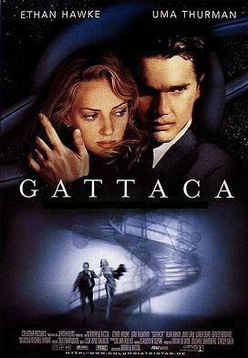"""Gataca Movie Poster B"". Via Wikipedia - https://en.wikipedia.org/wiki/File:Gataca_Movie_Poster_B.jpg#/media/File:Gataca_Movie_Poster_B.jpg"