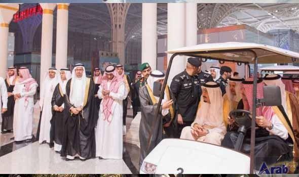 Saudi Arabia's King Salman opens new airport in Madinah ahead of Haj