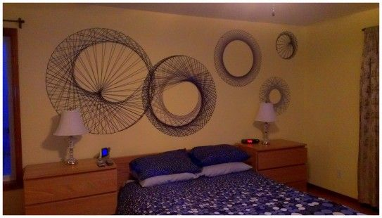 http://www.bawtie.com/decor-and-design-your-room-with-oversized-wall-art/ Decor and Design Your Room with Oversized Wall Art : String Wall Art Oversized Wall Art