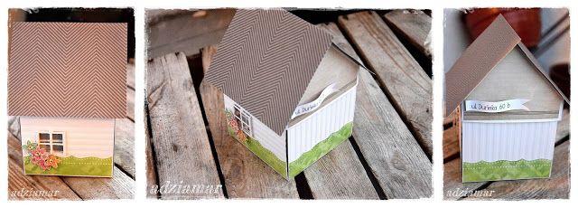 (adzia) mary czary: exploding box - domek na klucz