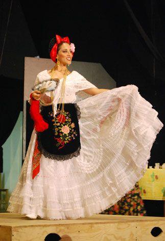 Veracruz | Trajes tipicos de México | Pinterest