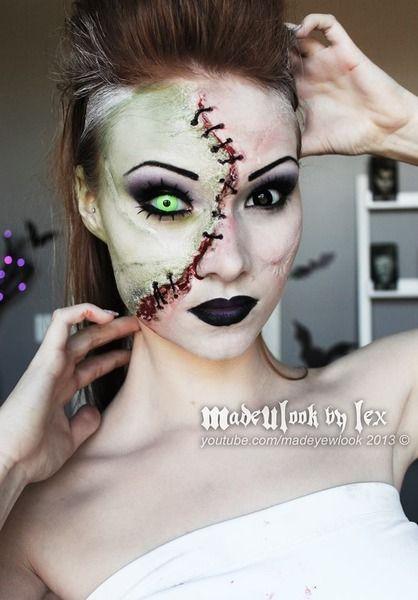 Amazing Bride of Frankenstein makeup