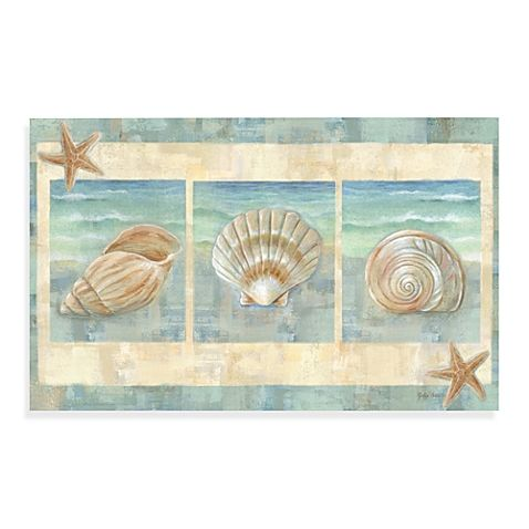 <P>Bring images of beautiful ocean waves and shells from the sea into your kitchen with this lovely mat. This multi-purpose, anti-fatigue floor mat is slip resistant, water repellant and has a non-skid back. Indoor use only.</P>