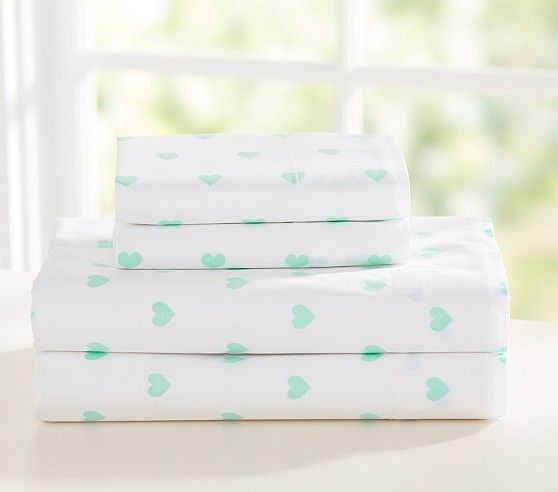 Heart Organic Sheet Set