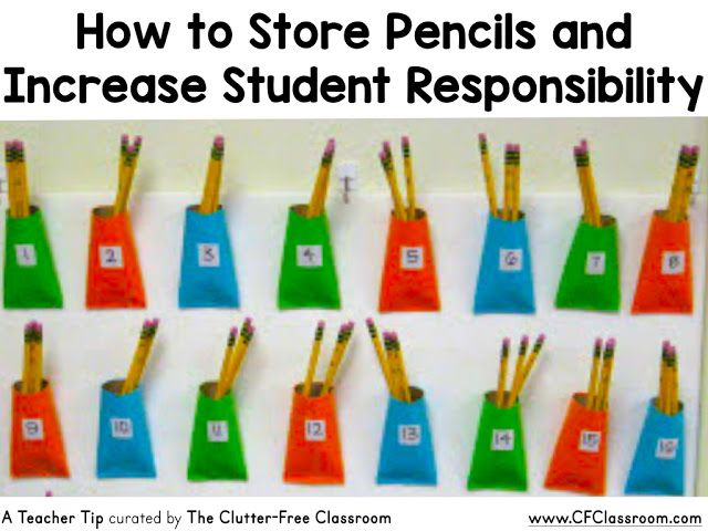Are your students always losing pencils? Are you wondering how to manage pencils in the classroom? This classroom management tip will be helpful to elementary teachers.