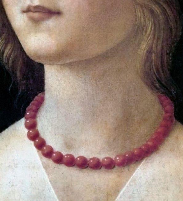 Portrait of Giovane,Donna Lisbona by Domenico Ghirlandaio