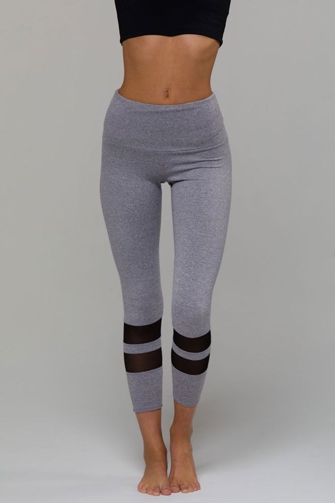 7a98a1a2de 7/8 Racer Midi Legging #fashion #clothing #shoes #accessories  #womensclothing #activewear (ebay link)