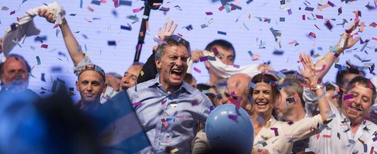 Argentina, il liberale Macri è il nuovo presidente