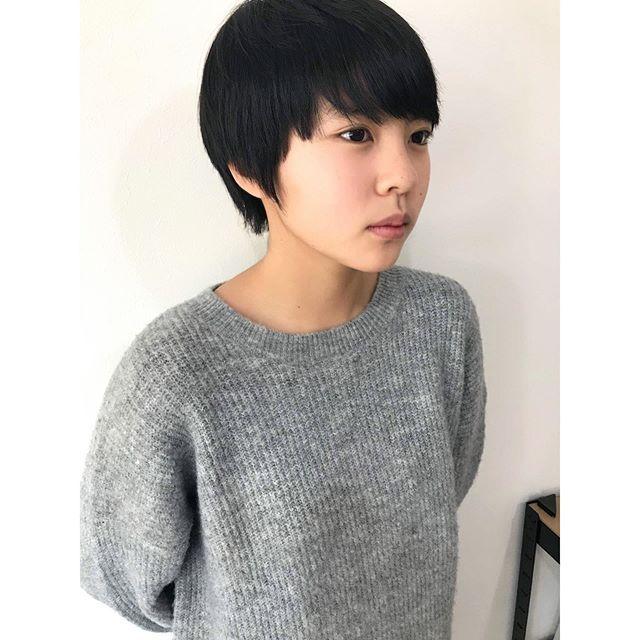 美人中学生の美人ショートスタイル いつもありがとうございます Souta Kawahara 美容室 Creer For Hair Kagoshima 鹿児島 鹿児島美容室 ヘアカット ヘアスタイル ショートスタイル 撮影 撮影モデル募集 サロンモデル募集