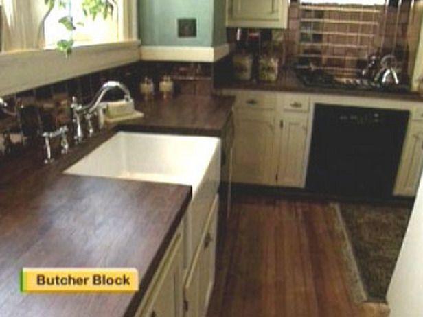 Kitchen Ideas Butcher Block Countertops : Butcher block countertop Kitchen ideas Pinterest