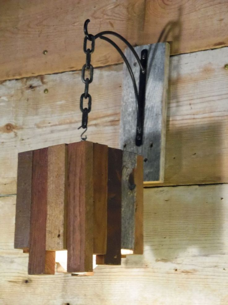 1000 ideas about hanging light fixtures on pinterest for Rustic wooden light fixtures