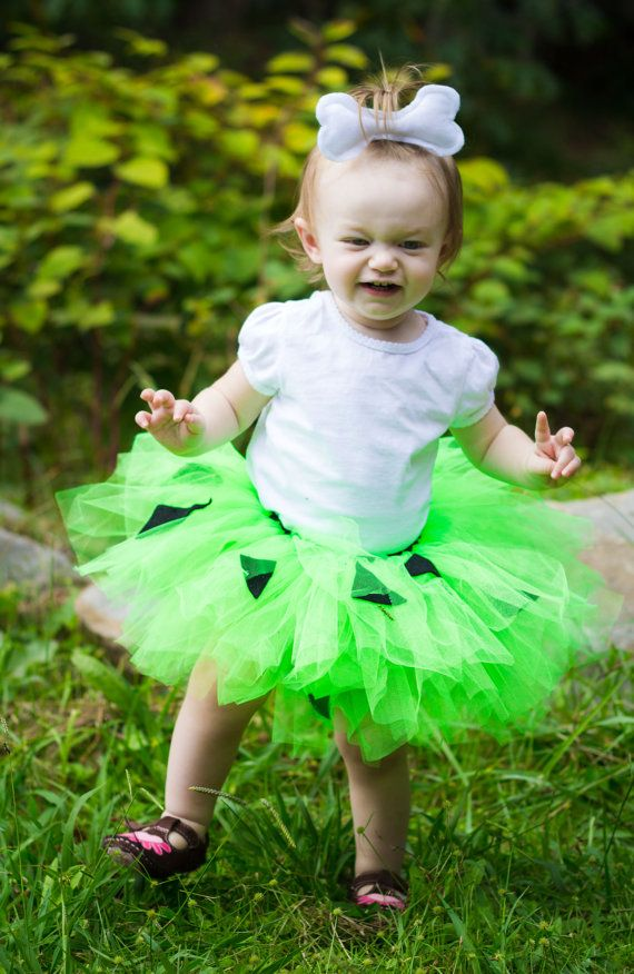 pebbles tutu flintstone halloween costumefree by
