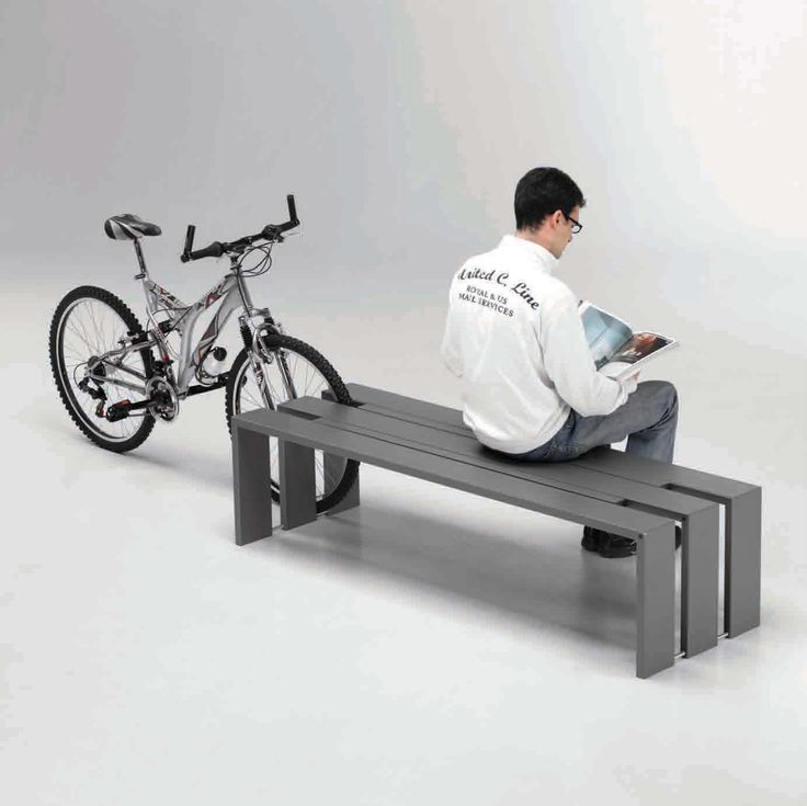 The Toso Bench Is Formed From Three Bridge Profiles In 150 X 30mm Steel  Tube,