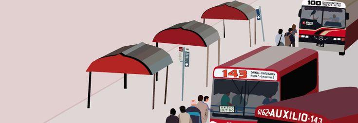 Argentinien Reiseberichte: Busfahren- Im Colectivo-Dschungel