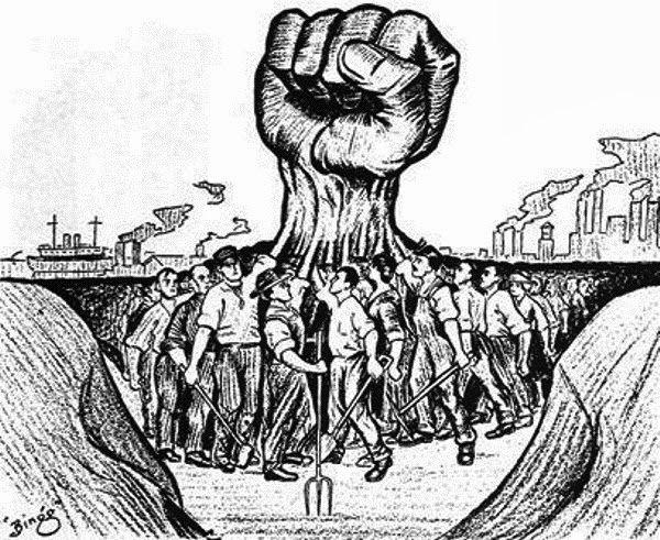 ... REPRESIÓN: a) La criminalización de la protesta social utilizando a los medios masivos de difusión para presentar una imagen de los que protestan como delincuentes. b) Infiltrar dentro de las movilizaciones a grupos de provocadores que realizan actos de violencia para dar pretexto y motivo a los cuerpos represivos del Estado. c) Regular e inhibir las manifestaciones de descontento mediante la creación de leyes que limiten sus expresiones y castiguen a los participantes.