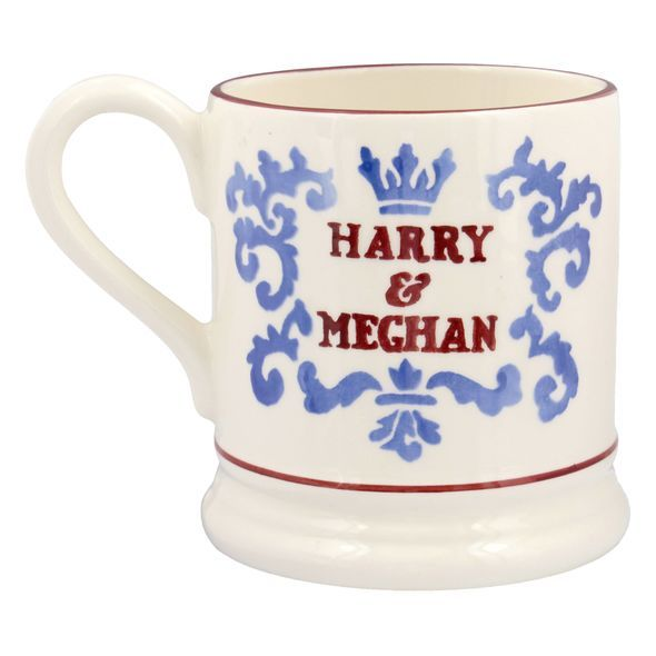 Meghan Markle and Prince Harry  wedding mugs have been produced Photo (C) PA