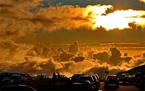 Sunset, Haleakala National Park, Maui