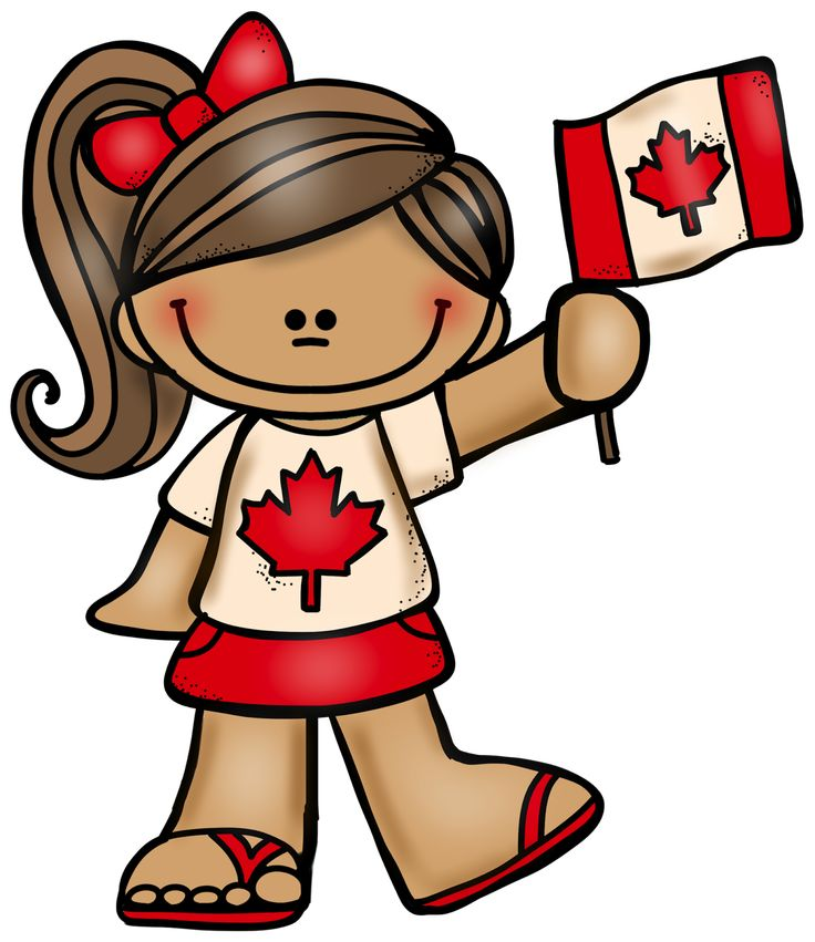 FREE - July 1st is Canada Day! Here is a Canadian boy and girl for those who want to celebrate the special day with some red and white graphics!