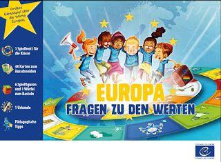 Europa im DaF-Unterricht : Pädagogisches Spiel: Europa – Fragen zu den Werten