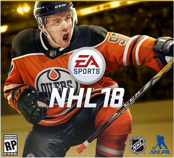 He was then named the EA Sports cover athlete for NHL 18, the popular hockey video game.