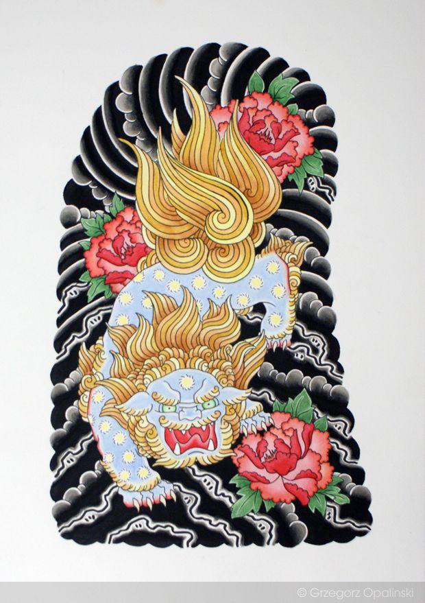 121 best images about foo dog tattoo on pinterest foo dog foo dog tattoo and japanese tattoos. Black Bedroom Furniture Sets. Home Design Ideas