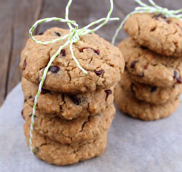 Veganmisjonen: Mammas havrecookies med tranebær og valnøtter