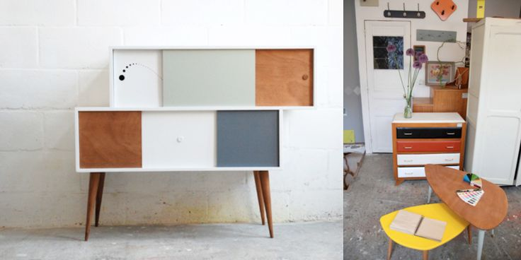 17 best images about meubles vintage on pinterest for Cirer un meuble peint