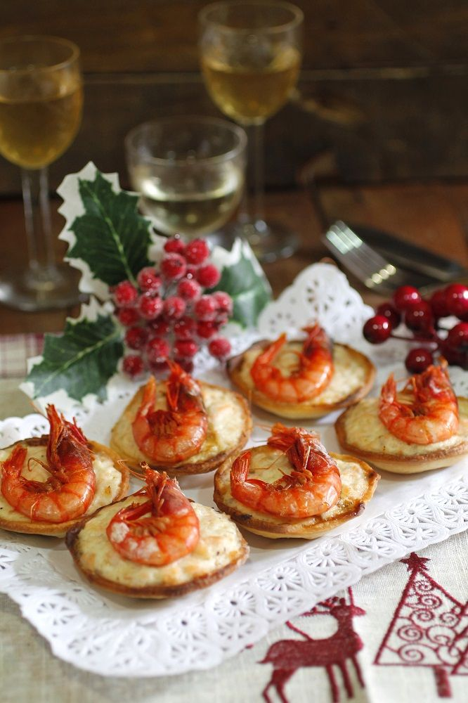 Mini tartaletas de salmón | Comparte Recetas