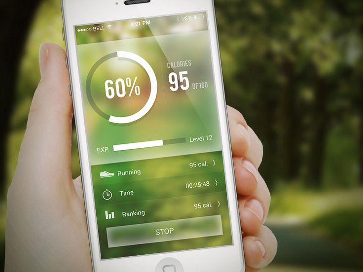 Fitness App - by buatoom | #ui