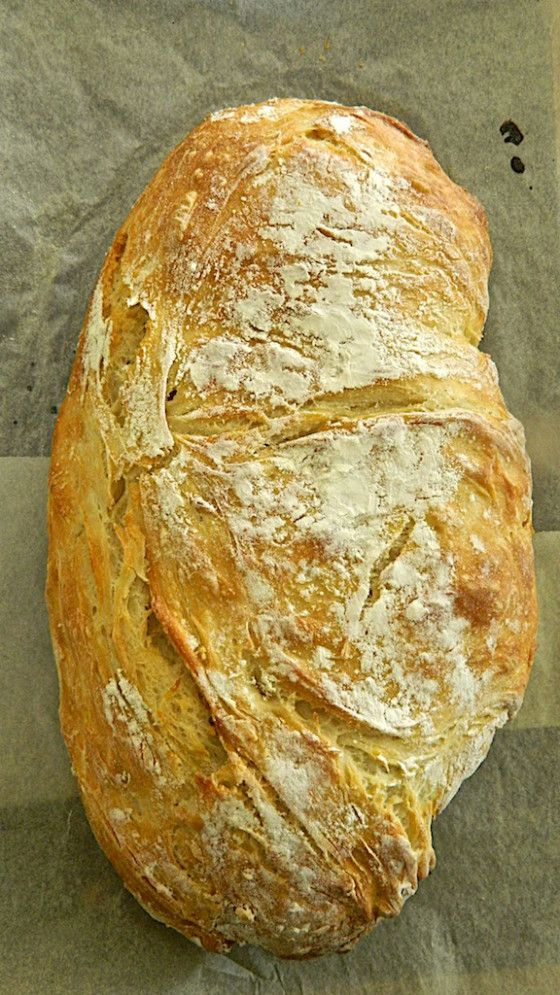 Ciabatta Bread. Recipe to try.